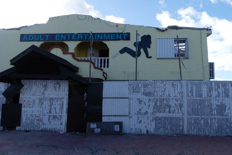 . Strip club St. Maarten