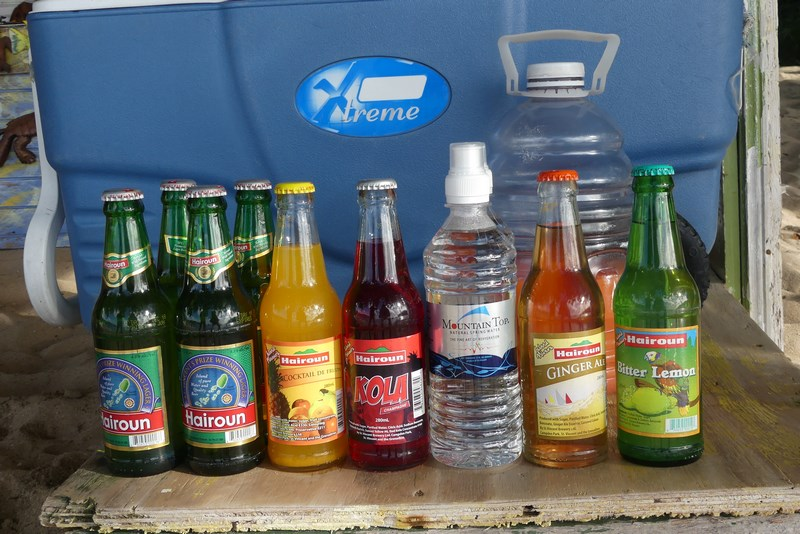 Soft drinks Bequia