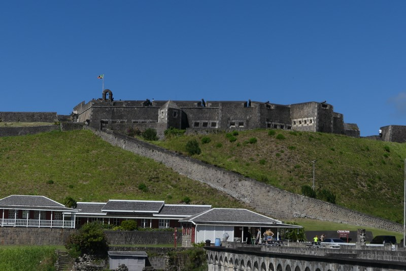 Fortress in St. Kitts