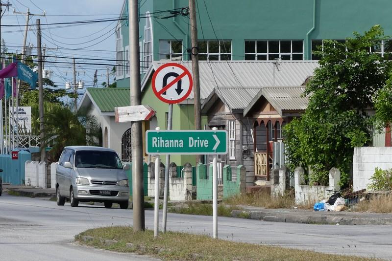 Rihanna Drive Bridgetown