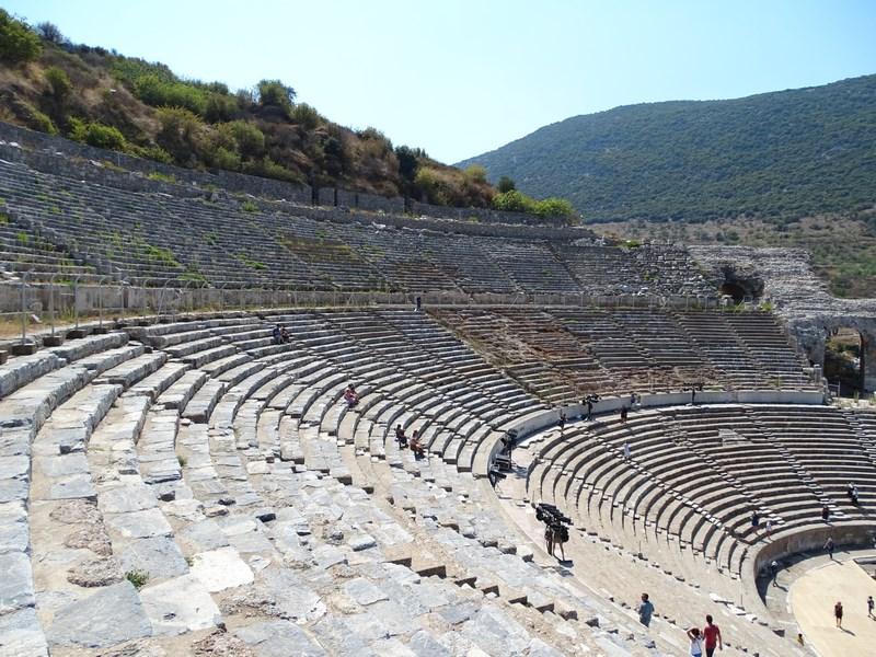 Tribune Marele Teatru Efes