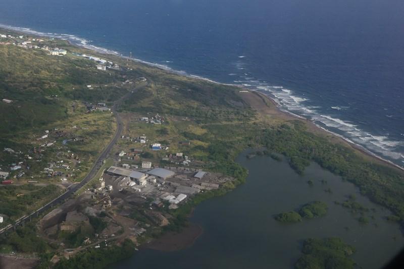 St Kitts coast