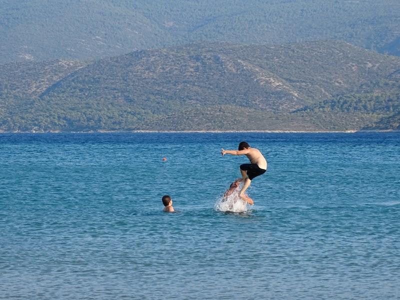 Samos Psili Amos beach