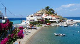 Kokkari Samos. Grecia
