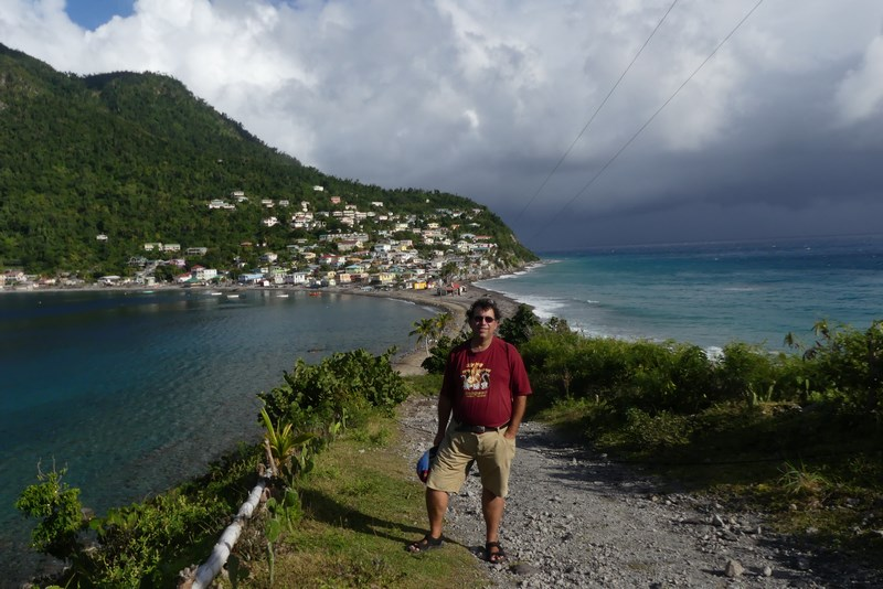 Scotts Head Dominica Caraibe