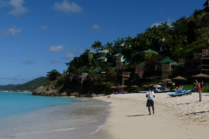 Plaja in Antigua