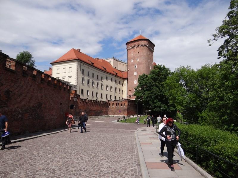 Spre Palatul Wawel