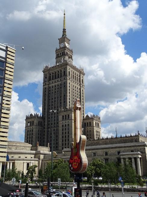 Palatul Culturii si Stiintei Varsovia