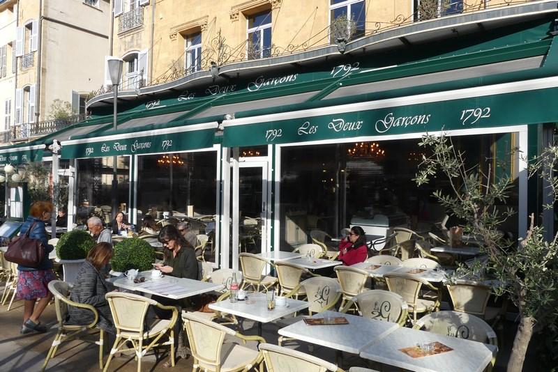 Les Deux Garcons Aix en Provence