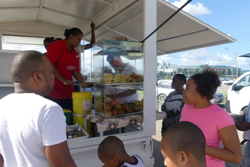 Street food Port of Spain