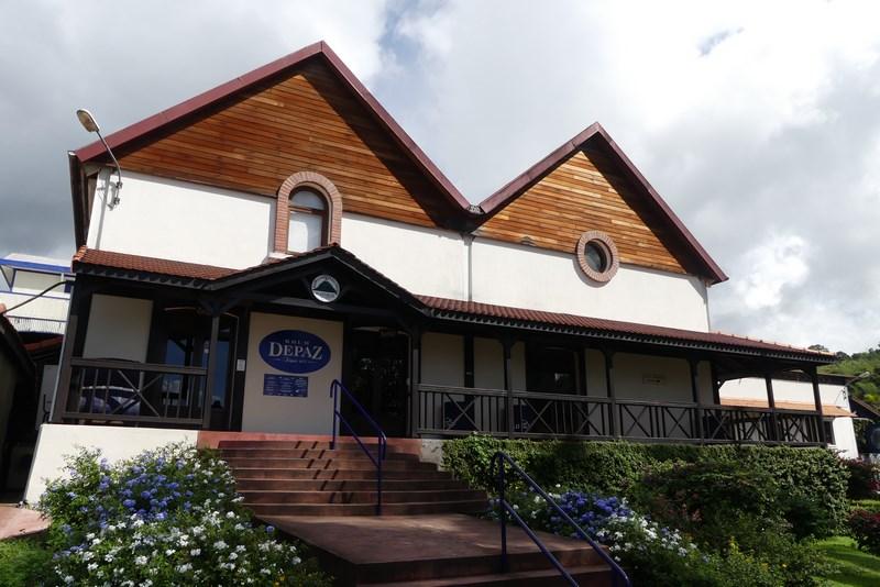 Centru vizitatori Depaz