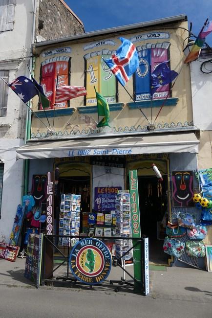 Magazin suveniruri Martinique