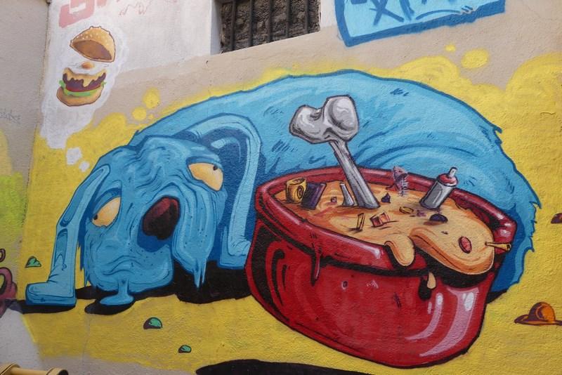 Grafitti Le Panier