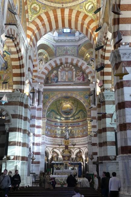 Notre Dame de la Garde interior