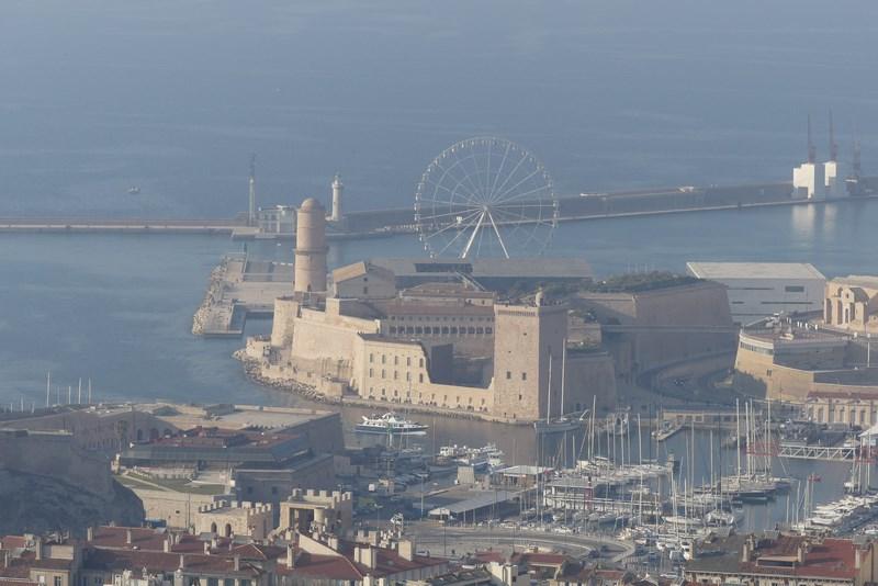 Panorama zona culturala Marseille