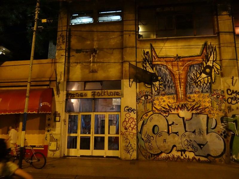 Sala milonga Buenos Aires
