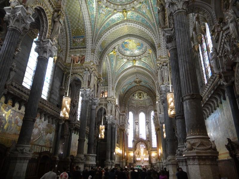 Interior catedrala Lyon