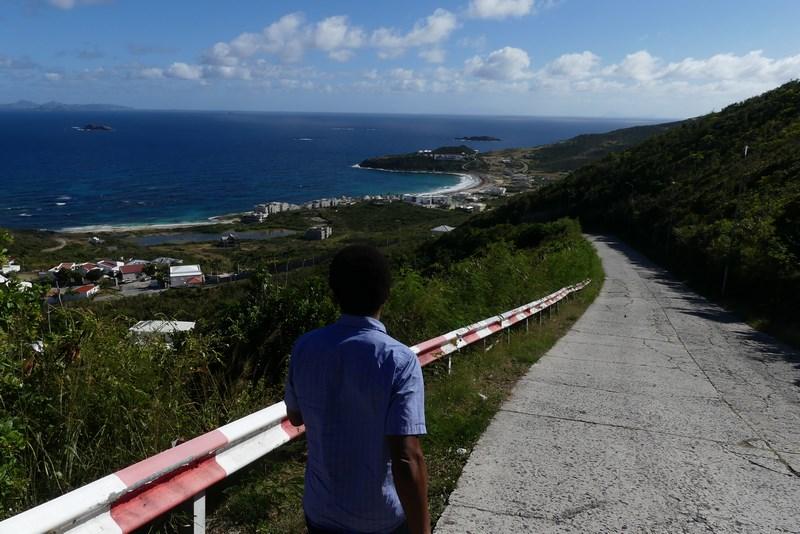 Drum pustiu St. Maarten