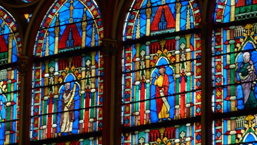 Notre Dame vitralii