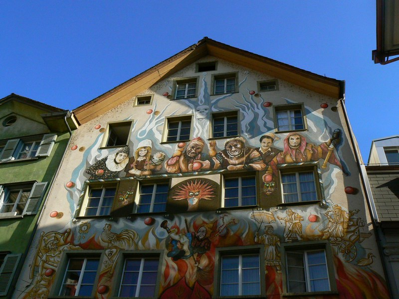 Centrul vechi Luzern