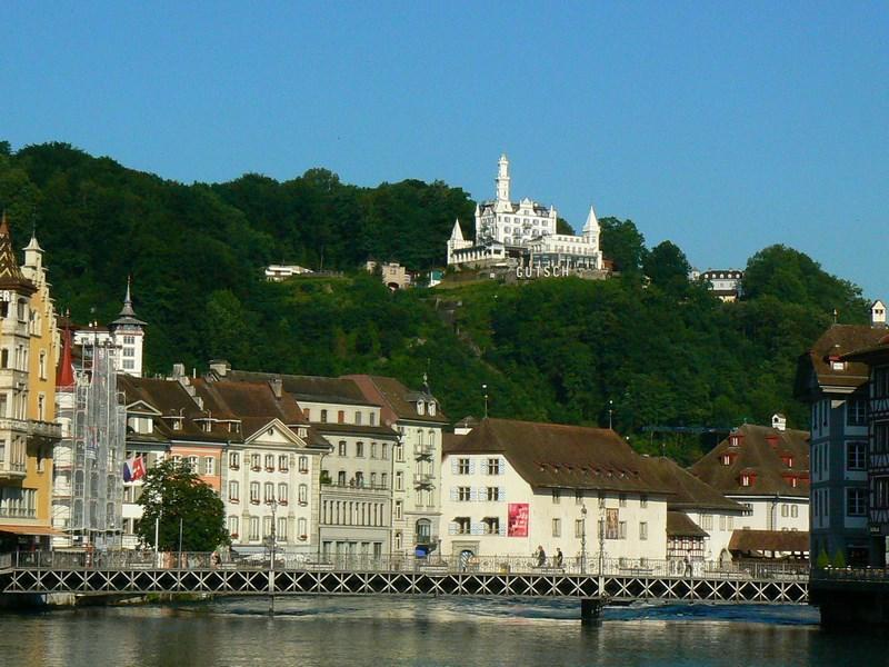 Orasul Luzern Elvetia
