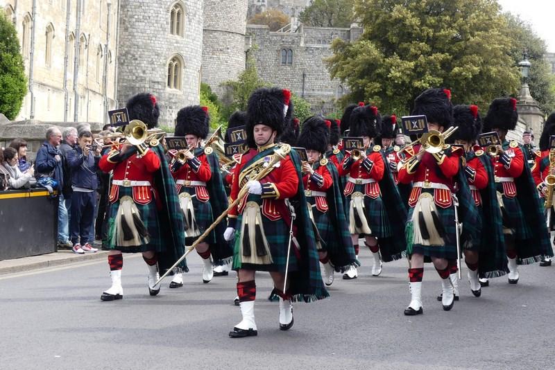 Parada garda scotiana