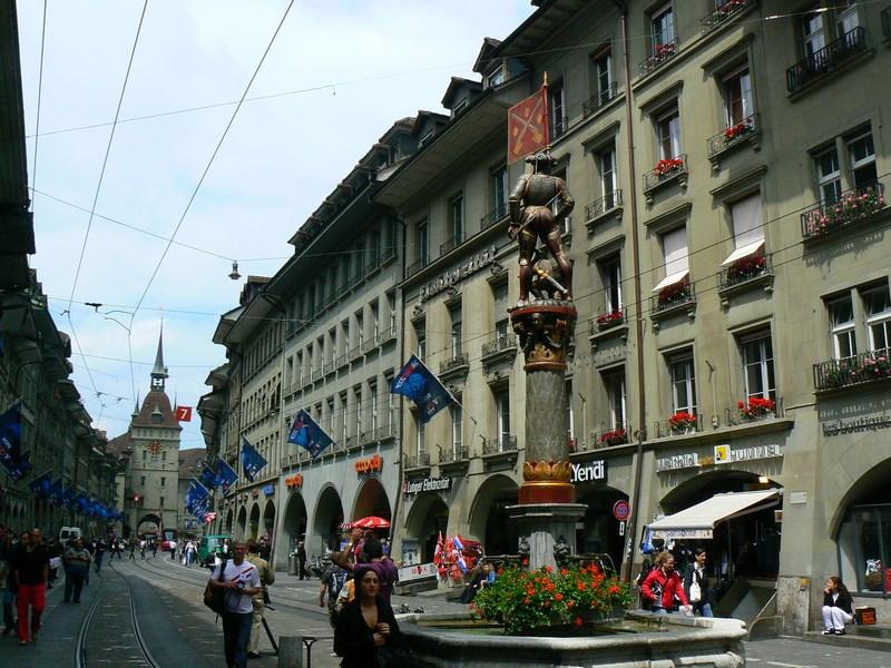 Bulevardul principal Berna