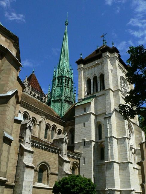 Catedrala St Pierre Geneva