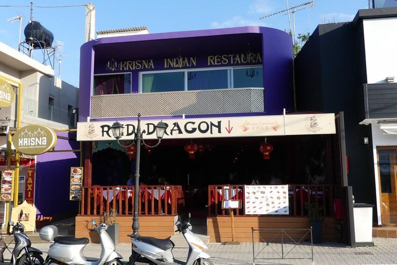 Restaurant chino indian