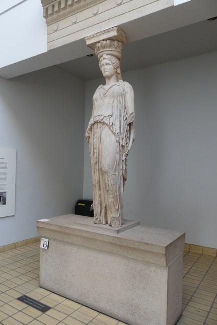 Cariatida British Museum