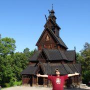 Biserica de lemn Norvegia