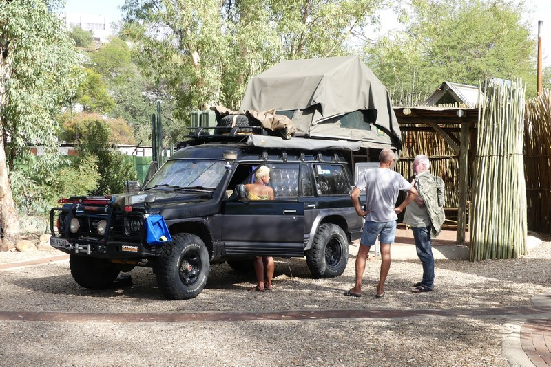 Masina de safari Namibia