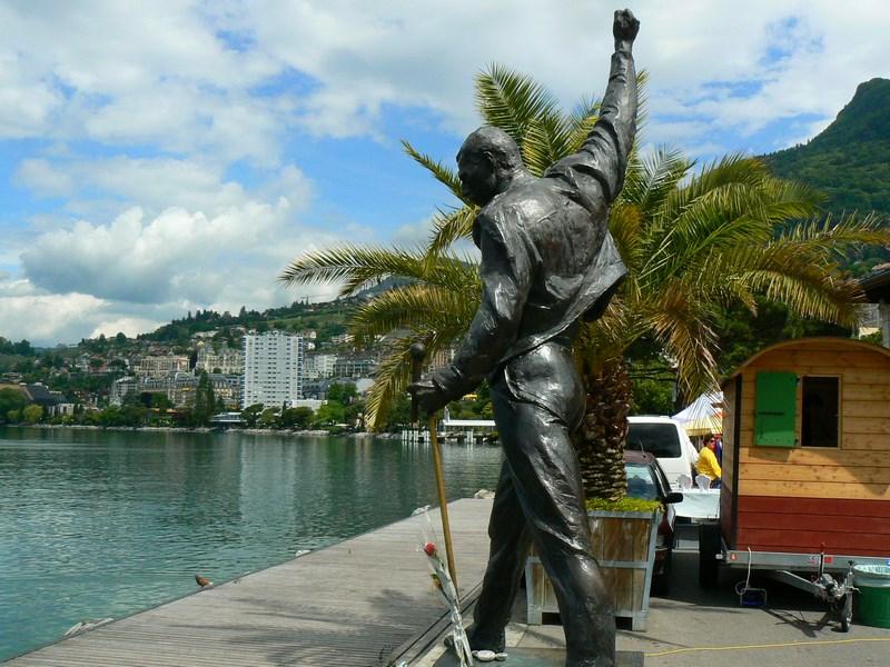 Statuia Freddie Mercury Montreux