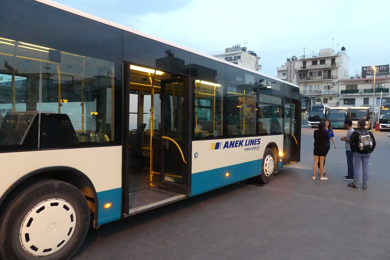 Bus Platanias Chania