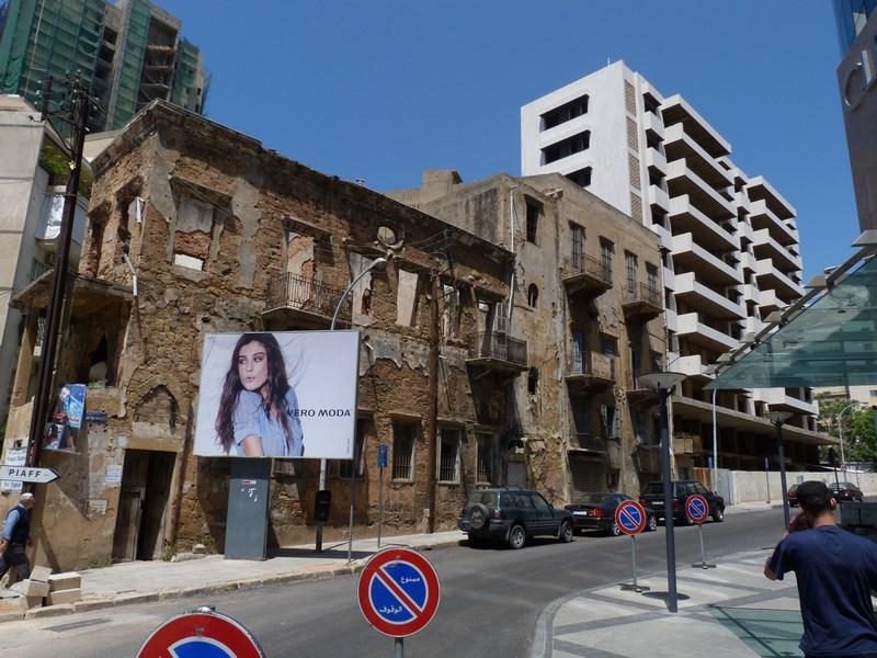 Distrus si construit Beirut