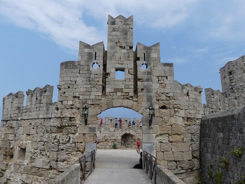 Intrare orasul vechi Rhodos