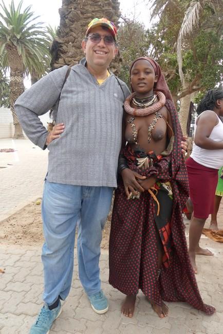 Topless in Swakopmund