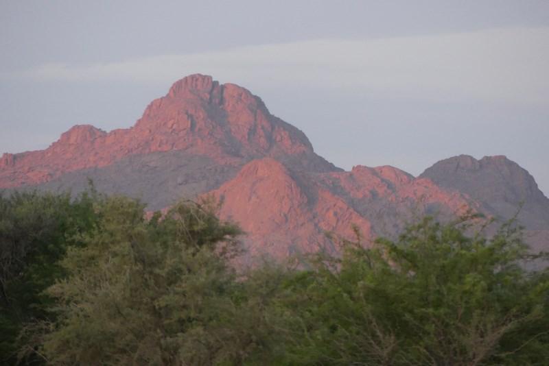 Apus de soare in Namibia