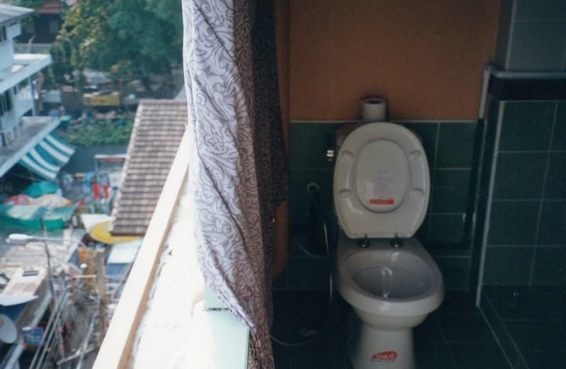 WC in balcon