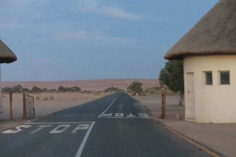 Intrare Namib National Park