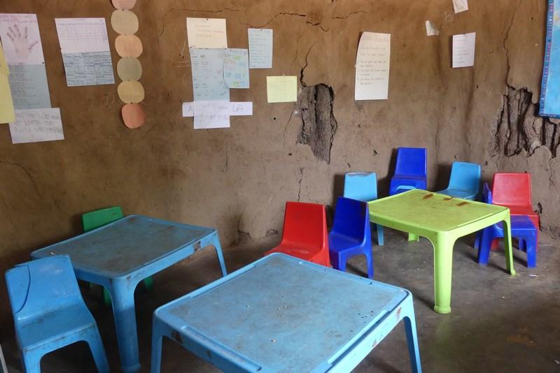 Interior scoala Namibia