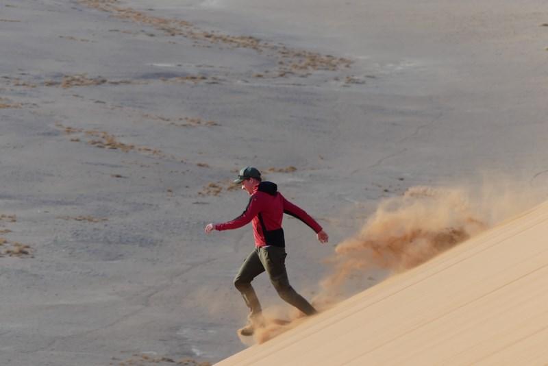 Alergare pe duna