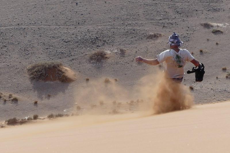 Fuga prin nisip