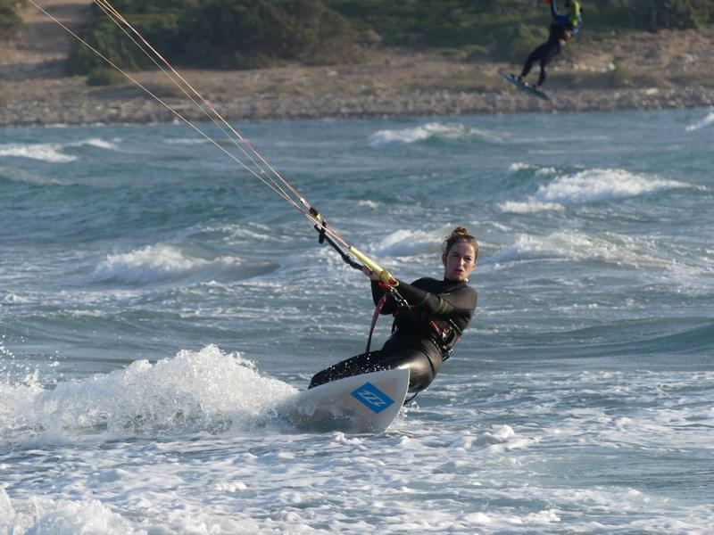 Windsurfing Rhodos
