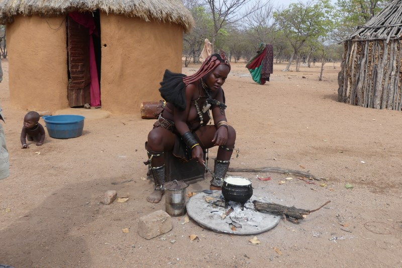 Himba lunch