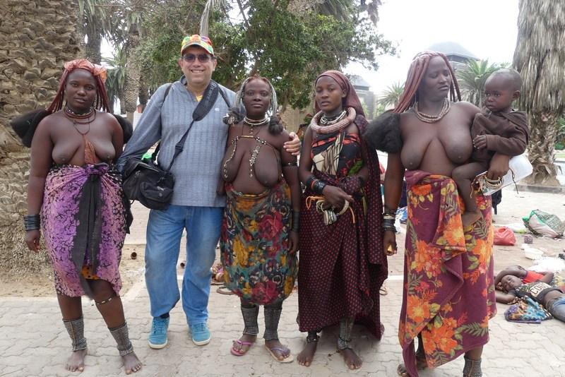 Himba in Swakopmund