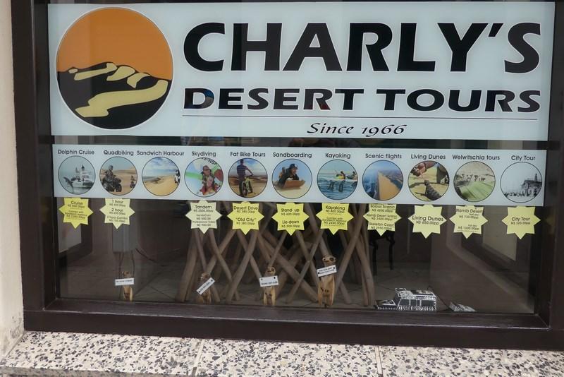 Charlys Deset Tours Swakopmund