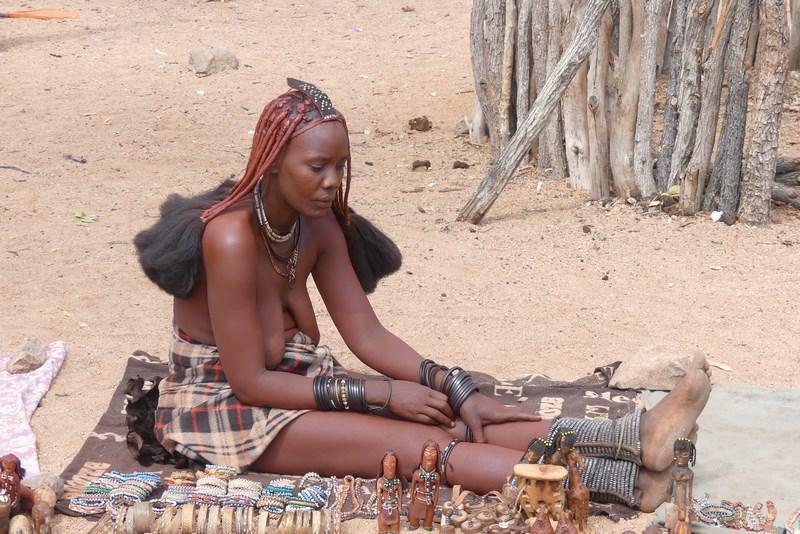 Himba market
