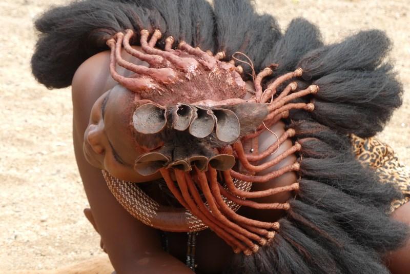 Coafura Himba