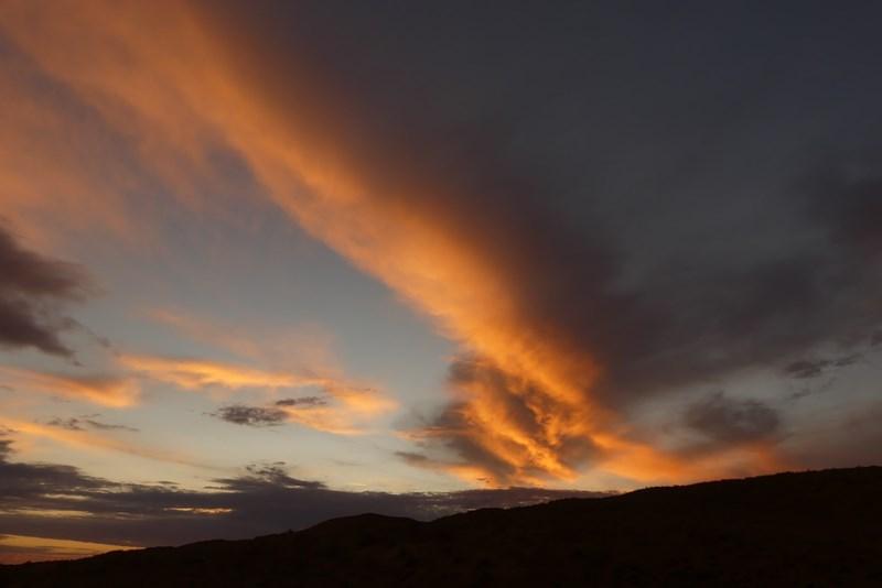 Apus de soare Namibia
